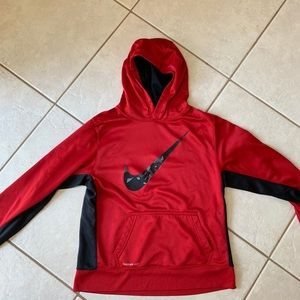 Nike Tops - Nike Hoodie Red Youth XL